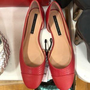 Zara women slip on shoe
